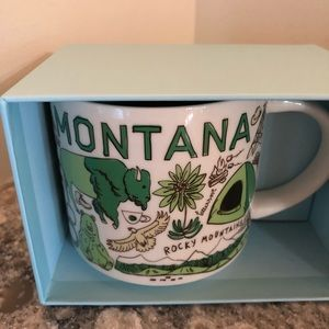 "NIB Starbucks Montana ""Been there Series"""